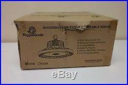 RuggedGrade Dimmable 14,500 Lumen 100 Watt LED High Bay Light 4000K Natural (B)