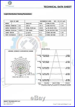 Shoe-box 150w LED Parking Lot Light Fixture UL DLC approved 5yrs warranty