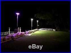 Solar LED Outdoor Motion Sensor Street Parking Security Flood Post Light