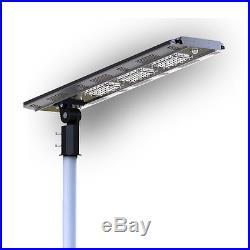 Solar Powered Hybrid LED Bike Path Street Parking Lot Smart Sensor Lights Lamp