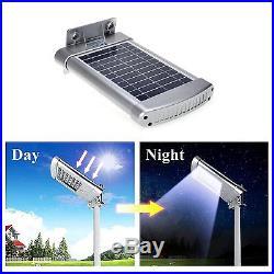 Solar Street Light Outdoor Commercial IP68 Deck Yard Motion Sensor Night Lamp