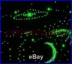 Sparkle led fiber optic star light kit for home theater ceiling lighting decors