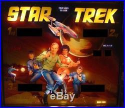 Star Trek Complete LED Lighting Kit custom SUPER BRIGHT PINBALL LED KIT (BALLY)