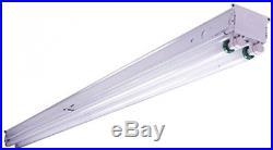 Strip Shop Light Fluorescent White Hardwired Lamp Ceiling Fixture Lighting 8-ft