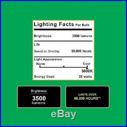 Sunco 4 PACK Barn Light 5000K Daylight 35W Dusk-to-dawn LED Outdoor Floodlight