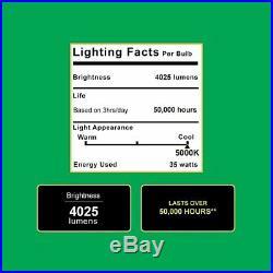 Sunco Lighting 2 PACK 35W Dusk-to-dawn LED Outdoor Barn Light, 250W