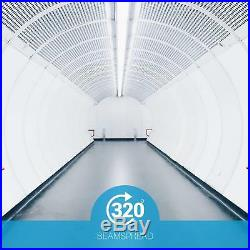 T8 Glass 4ft LED Tube Light 17W 32W Replacement 4100K Cool White Ballast Bypass