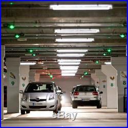 T8 LED Shop Light Tube 4ft 5ft 6ft 8ft 5500K Cold White Clear Lens with HO/R17D