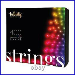 TWINKLY Generation II 400 LED RGB Smart Light String