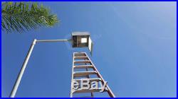 Tennis Court 120 Watt LED Shoebox Parking Lot Outdoor Retrofit Kits Light 5000K
