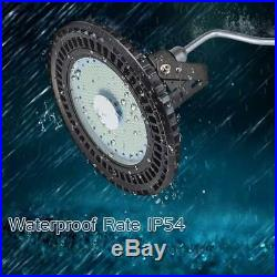 UFO 250W LED High Bay Warehouse Light Bright White Fixture Factory Shop Lamp
