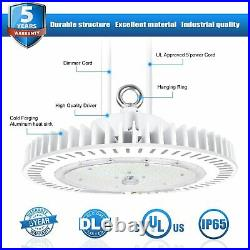 UFO High Bay LED Light 240W Warehouse Fixture Factory Shop Lighting 5000K UL DLC