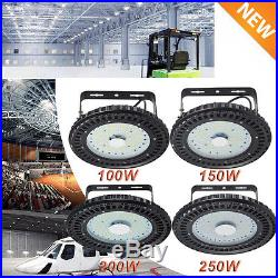 UFO LED High Bay Light 100W 150W 200W 250W Warehouse Industrial Factory Lamp