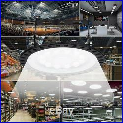 UFO LED High Bay Light 100With200With300W Low Bay Warehouse Industrial Lights Fedex