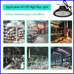 UFO LED High Bay Light 240W Work Shop Warehouse Industrial Lighting 5000K 36000