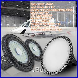 UFO LED High Bay Light 300W 250W 200W 150W 100W Factory Warehouse Shop Lighting