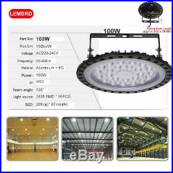 UFO LED High Bay Light 50/100/200/300/500W Low Bay Warehouse Industrial Lights