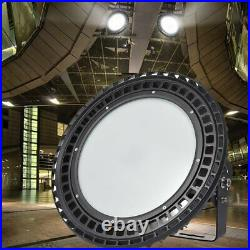 UFO LED High Bay Light Industrial Warehouse Shop Garage Gyms Lamp 500W 800W IP65