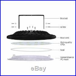 UFO LED High Bay Lights 500W 300W 200W 100W 50W Warehouse Led Shop Light Fixture