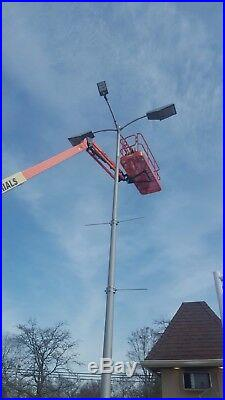 UL 300W LED Street Light Replace 1500W Parking Lot Area Lights Slip fitter 5700K