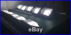 UL DLC LED Wall Pack Fixture 100W Daylight 5000K 400Watt MH/HPS Replacement 277V