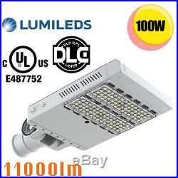 UL LED Shoebox Lights 100W Retrofit 400W Parking Lot Metal Halide Fixture 6000K