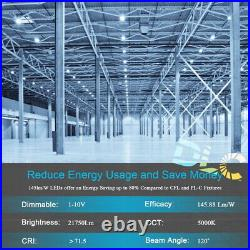 UL ULc DLC LED UFO High Bay Light 100W 150W 200W 240W 5000K Daylight 480V 120V