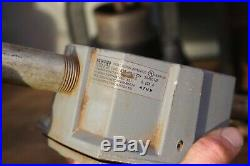 Vintage Killark Explosion Proof Siren Factory Light Fixture Industrial Exit Lamp