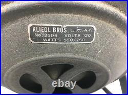 Vintage Kliegl Bros 3508 Stage Light Shop 22 500/750 Watts 120 Volt