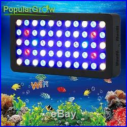 WIFI Dimmable165WLED Aquarium Light Full Spectrum Fish Tank Reef Coral Grow Lamp