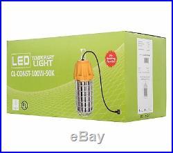 Westgate LED High Power Construction Temporary Light- 100W-12000 Lumens