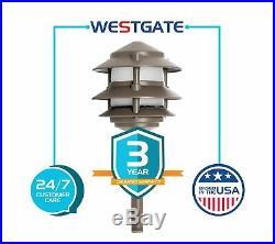Westgate LED Landscape Garden Light Pagoda Integrated-12V-3W -200 Lumens