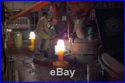 Wobble Light 8000 Lumens, Halogen Yellow Temporary Job Site Light, 111302