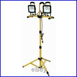 Yellow Jacket WL40236SYJDI LED Dual Head Work Light, 6000 Lumen